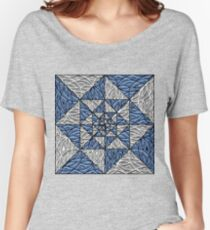 Geometry and Swirls Women's Relaxed Fit T-Shirt