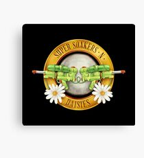 Supersoakers 'n Daisies Canvas Print
