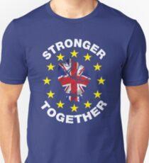 Stronger Together, UK, Brexit, Ukip T-shirt Slim Fit T-Shirt