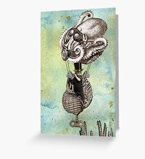 Flotilla - Trejean & Octopus Greeting Card