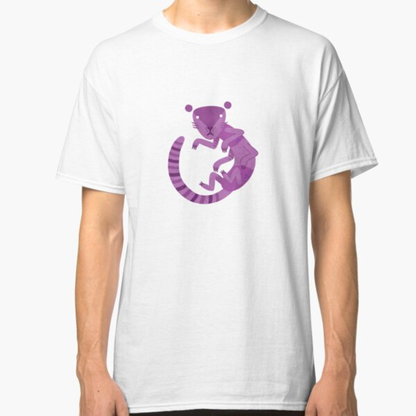Purple Kittypede Classic T-Shirt