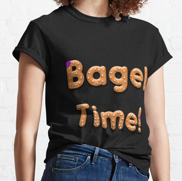 Bagel Time With Uncle Bruce logo Classic T-Shirt
