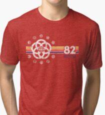 EPCOT Center Vintage Style Distressed Pavilion Logos  Tri-blend T-Shirt