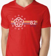 EPCOT Center Vintage Style Distressed Pavilion Logos  Men's V-Neck T-Shirt
