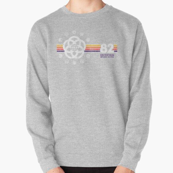 EPCOT Center Vintage Style Distressed Pavilion Logos  Pullover Sweatshirt