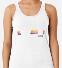 Camiseta con espalda nadadora EPCOT Center Vintage Style Distressed Pavilion Logos