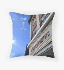 Not on the high street Throw Pillow