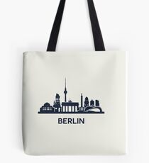 Berlin, dark Tote Bag
