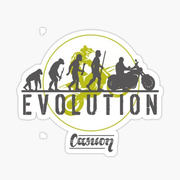 EVOLUTION- Graphics for Bikers Sticker