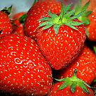 Fresh Strawberries by Lisa Kent