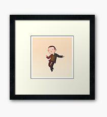 The Doctor Dances - 9th Doctor Framed Print