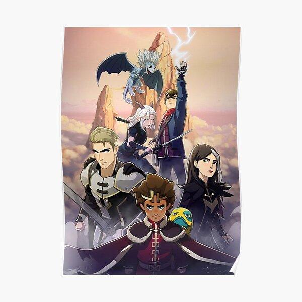 war prince dragon Poster