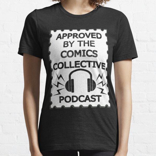 Comics Collective Podcast Logo Essential T-Shirt