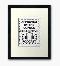 Comics Collective Podcast Logo Framed Print