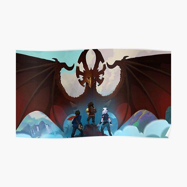god of dragon Poster
