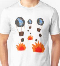 Balloon Bombardment Unisex T-Shirt