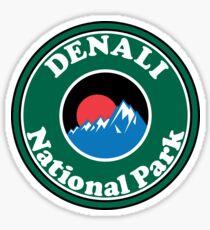 DENALI NATIONAL PARK ALASKA MOUNTAINS HIKING CAMPING HIKE CAMP Sticker