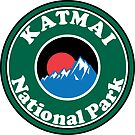 KATMAI NATIONAL PARK ALASKA MOUNTAINS HIKING CAMPING HIKE CAMP  by MyHandmadeSigns