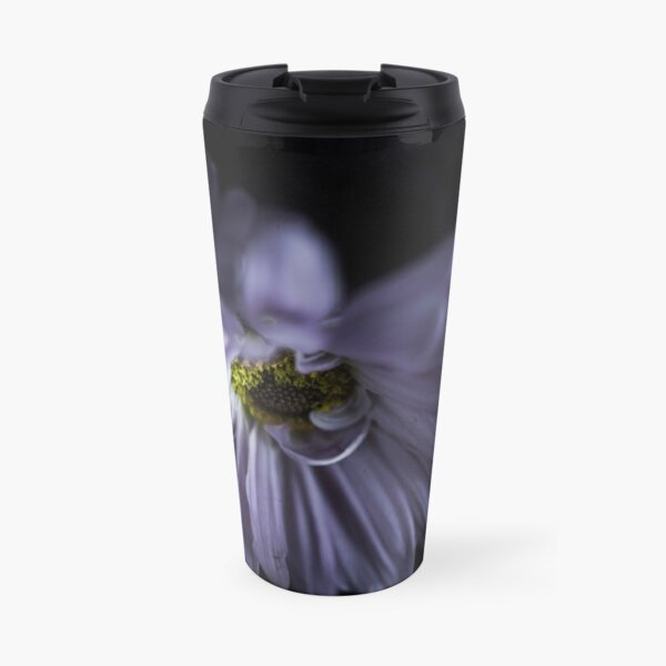 Purple Daisies Travel Mug