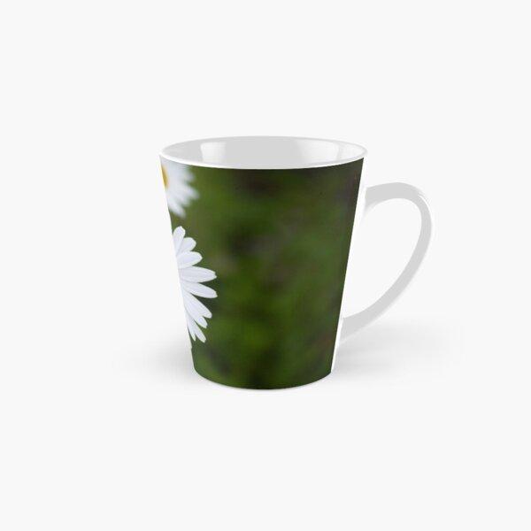 White Daisies Tall Mug