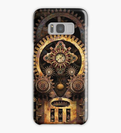Infernal Steampunk Vintage Machine #2B Samsung Galaxy Case/Skin