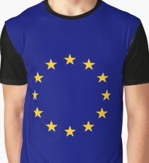 Living EU Flag Graphic T-Shirt