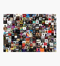 the greatest hip hop collage Photographic Print