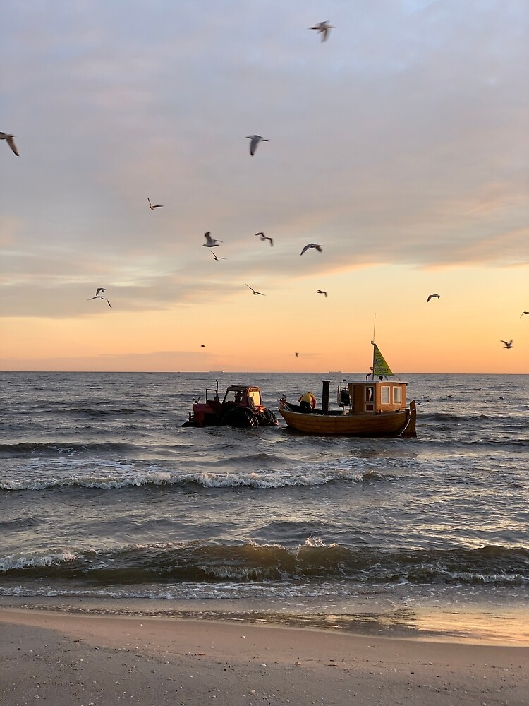 Routes to work on the Baltic Sea, Usedom by Leander Wattig