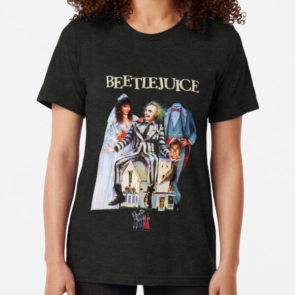 Beetlejuice T-shirt chiné