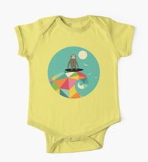 Surfs Up Short Sleeve Baby One-Piece