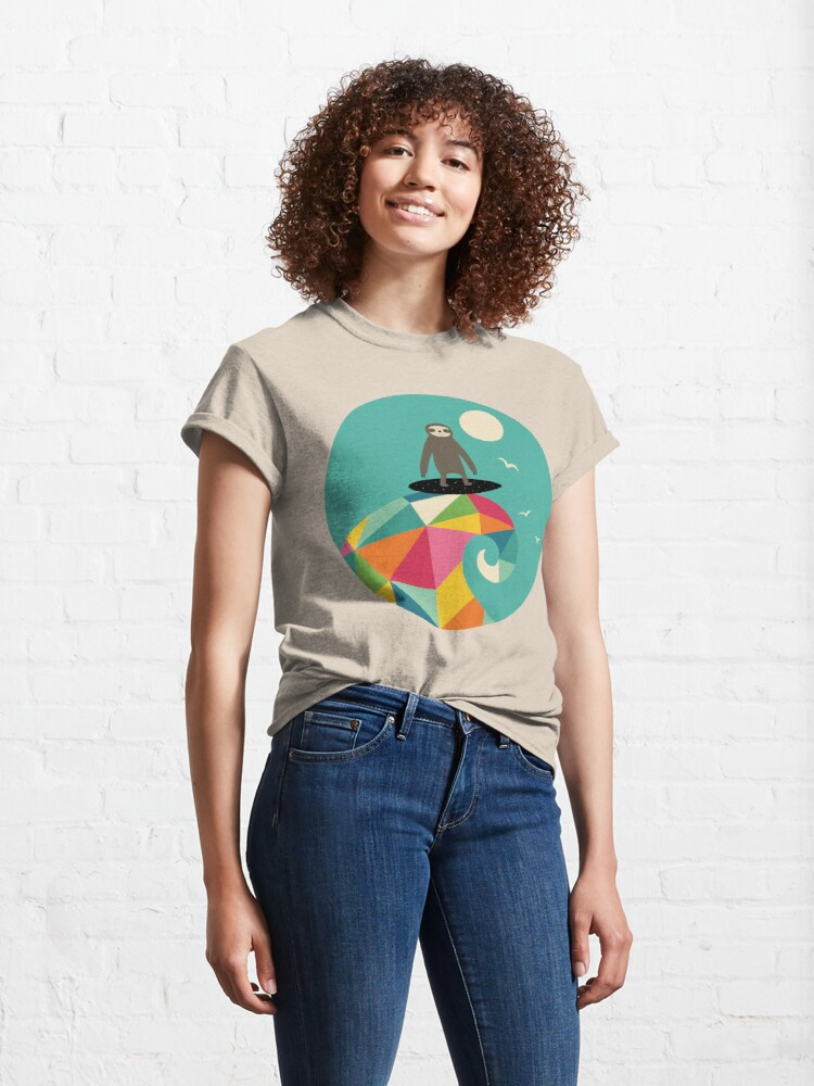 Alternate view of Surfs Up Classic T-Shirt