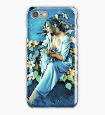 GIRL AND FLOWERS 7D iPhone Case/Skin