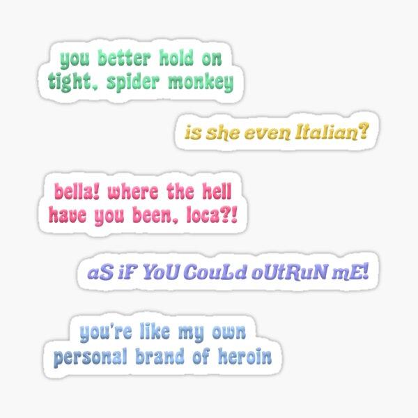 twilight quotes pack Sticker