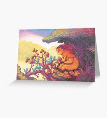 Plea to the Sun Guardian Greeting Card