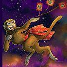 Monkey Tote 2016 by aunumwolf42