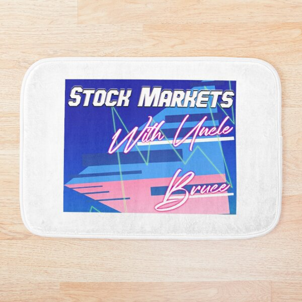 Stock Markets With Bruce Bath Mat