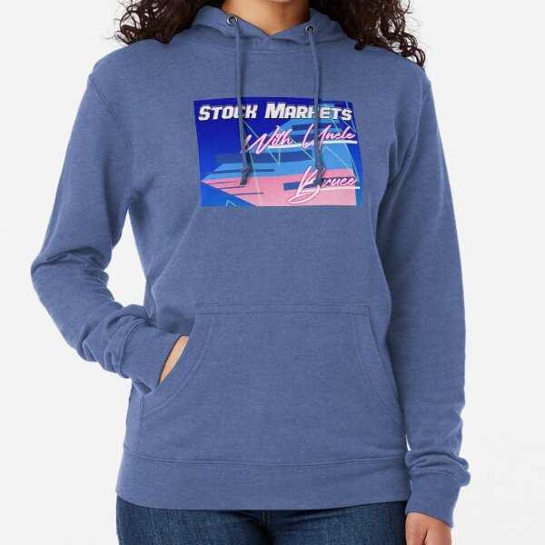 Stock Markets With Bruce Lightweight Hoodie