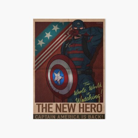 The New Hero Poster Art Board Print