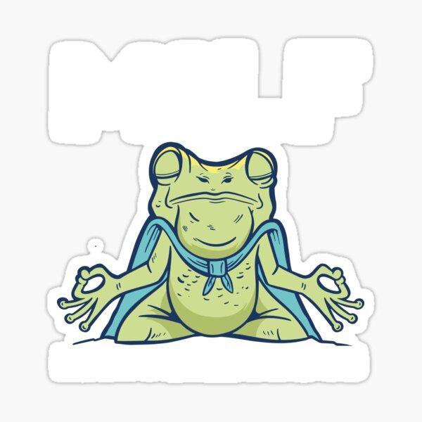 MILF Man I Love Frogs Funny Frog Tee Men Women Amphibian Sticker