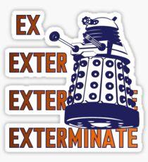 Doctor Who: Ex Exterminate Dalek Sticker