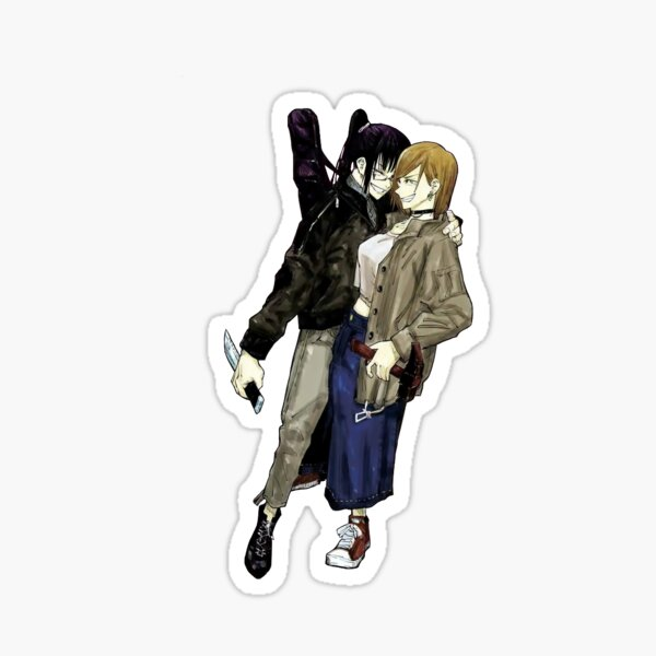 nobara and maki Sticker