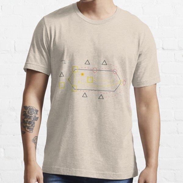 Whack Bat Diagram Essential T-Shirt