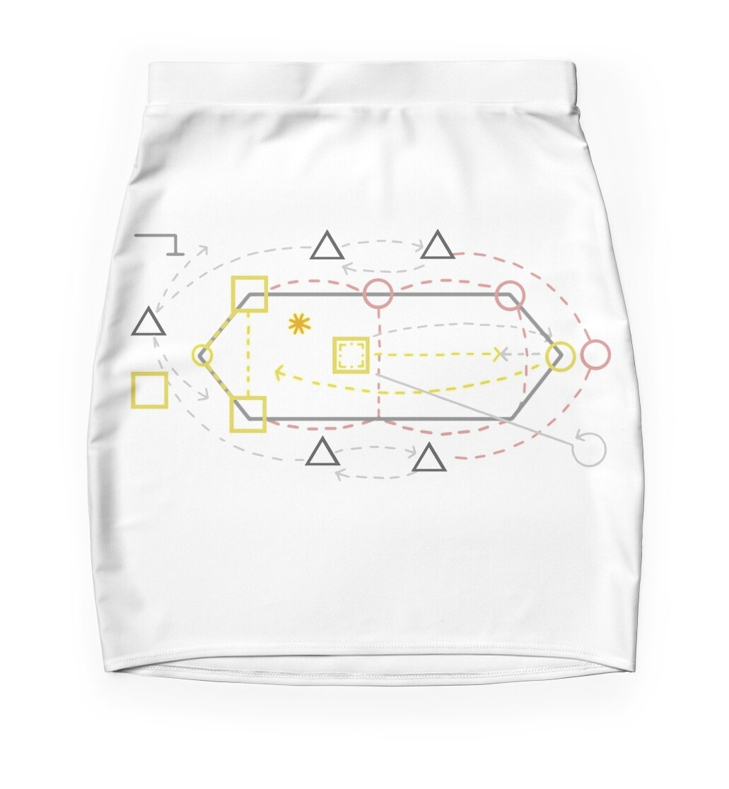 Whack bat diagram mini skirts by frankiole redbubble whack bat diagram pooptronica Images