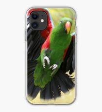 Le vol du perroquet iPhone Case