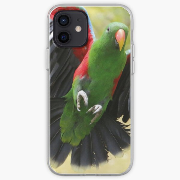 Le vol du perroquet iPhone Soft Case