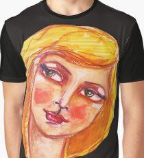 blond Graphic T-Shirt