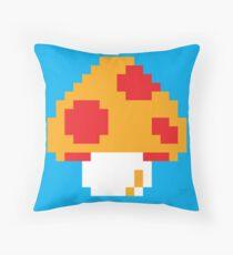 Super Mario Bros. Red Mushroom Throw Pillow