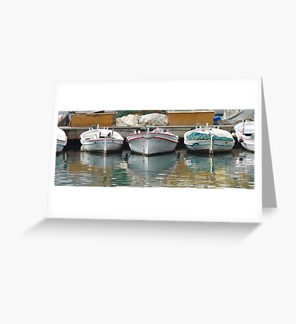 Ripple in Tyre Greeting Card