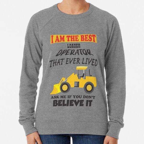 Front end loader Lightweight Sweatshirt