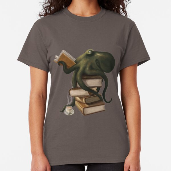 Well-Read Octopus Classic T-Shirt